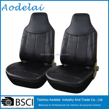 Leather car seat covers design with black design your own front seat covers