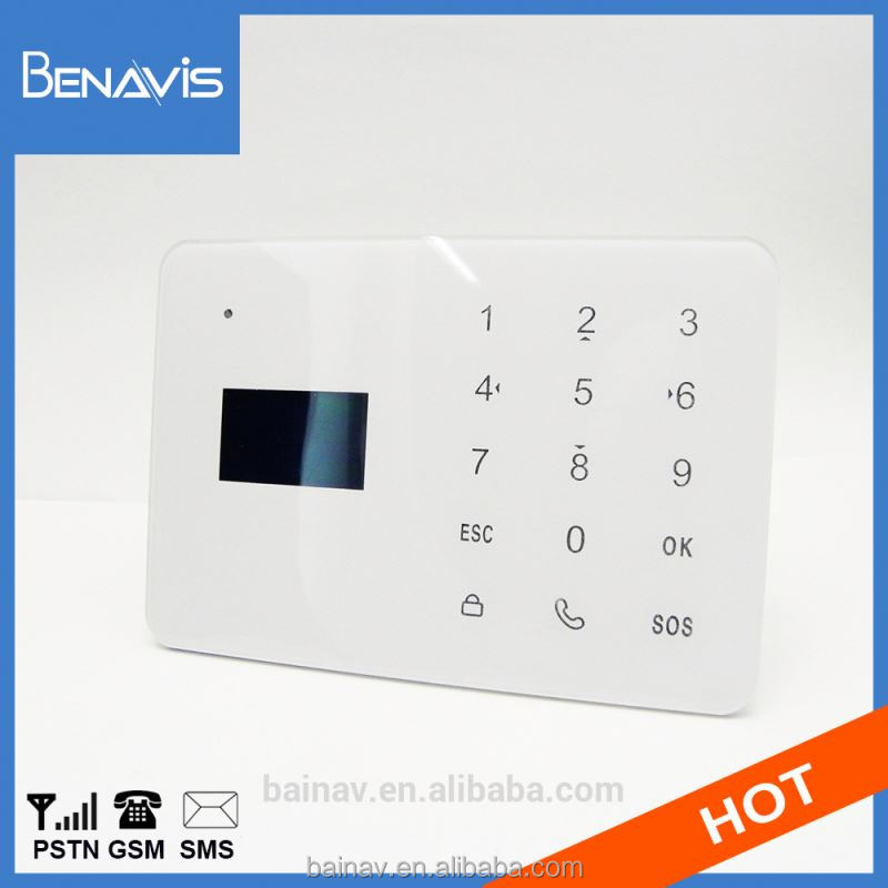 Capacity Touch Key Panel Gsm Homesecur Alarm Home