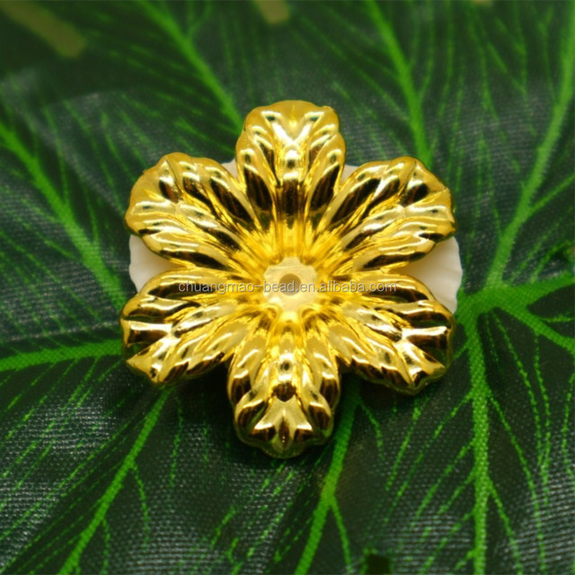 CCB beads plastic flower beads for jewelry making