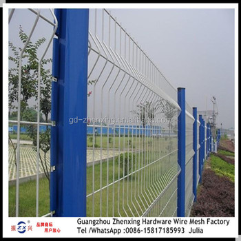 Factory directly selling PVC-coated wire mesh fence for garden