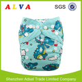 Alva Castle Pattern Washable Printed Pocket Cloth Diapers Baby Cloth Diapers