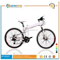 Chinese factory sale 26 inch 21 speed full suspension folding taiwan mountain bike