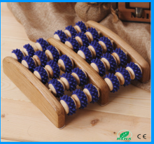 rubber wooden foot roller massager pictures
