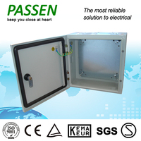 PASSEN CE fashion design ss304 stainless steel 3 phase power distribution box