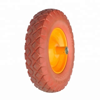 Elastic Polyurethane Foam Trailer Cart Wheels