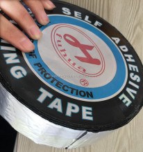 Asphalt self adhesive tape for roofing repairing use