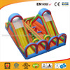 Cheap Colorful Inflatable Double Supper Slide
