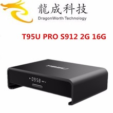 2016 Newest Products Pendoo T95U Pro Amlogic S912 2G 16G KODI 17.0 XBMC Android 6.0 TV box HD Movie Free Download