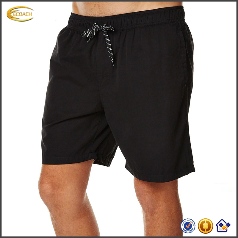 2017 NEW High Quality Custom Mens Nylon Blank Waterproof Pockets Mens Beach Shorts Swim Trunks