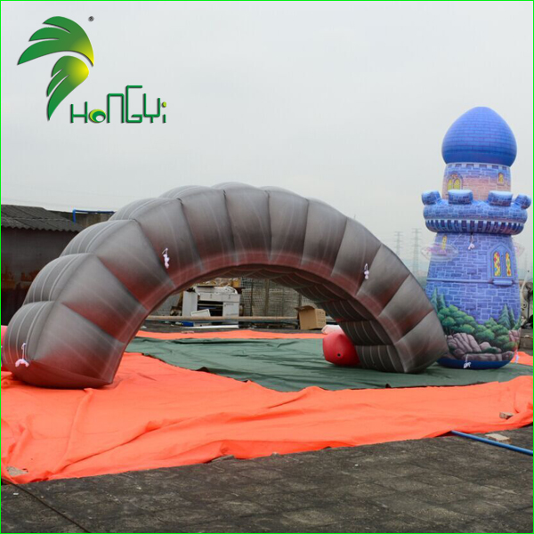 Inflatable Running Arch with LOGO Print , Inflatable Finish Line
