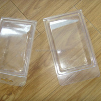 clear PVC thermoforming clamshell packaging box