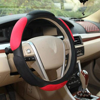 Generic Automotive Interior Accessories Top Leather Breathable car steering wheel cover