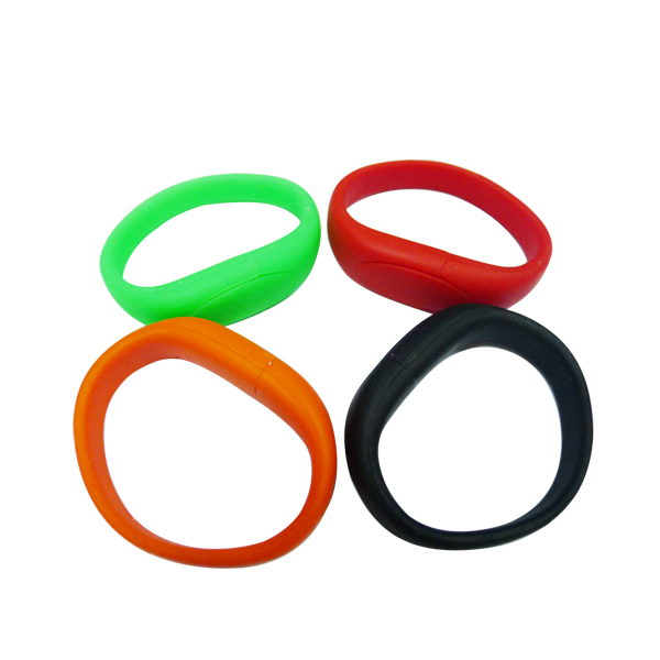 cheap drive silicone wristbands usb flash memory 32 gb