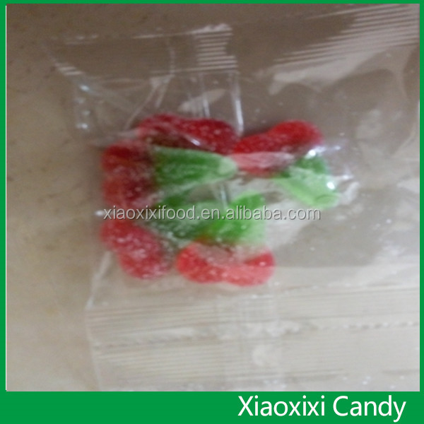 Gummy candy watermelon of candy with new package