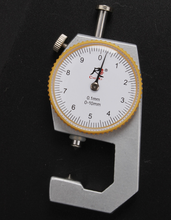 High quality thickness gauge, Leather Thickness Gauge thickness table 0-20mm