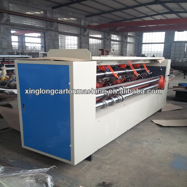 Corrugated slitter scorer machine, corrugated carton production line