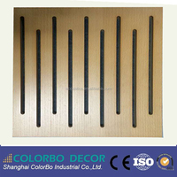 Micro Perforated Acoustic Wooden Panel/Noise Reduction MDF Boards