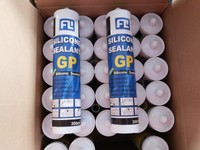 300ml Netural acetoxy silicone sealant for glass and floor
