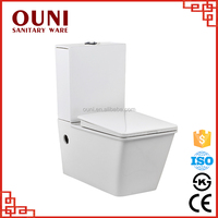 ON-738 New design energy saving wall hung durable ceramic fancy toilets