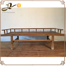 antique wood bed sofa
