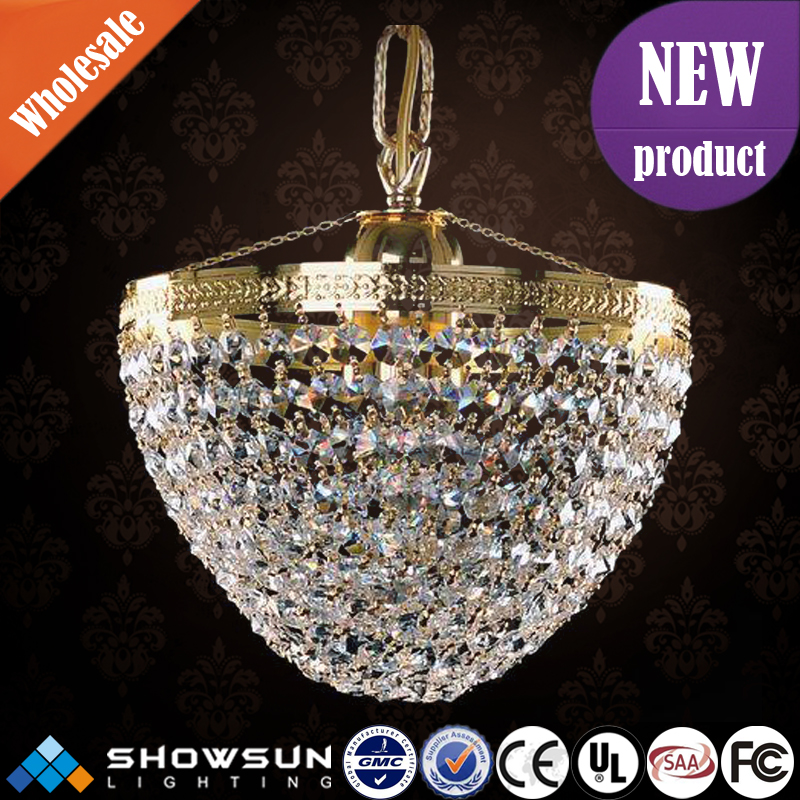 European classical handcrafted crystal chandelier