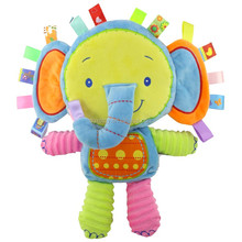 Baby Plush Toy Elephant baby teether toy colorful 2018 new design
