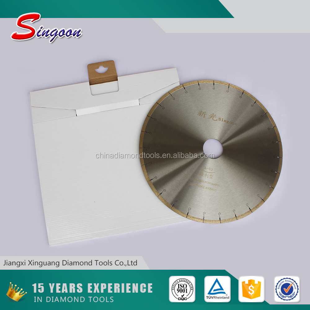 Diamond Marble saw blade;marble cutting electric saw,tile cutter blade