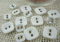 wholesale square fabric covered buttons