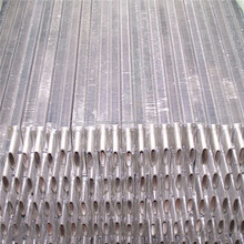 Oval fin tube with hot dip galvanizing for boiler economizer or power plant waste heat boiler