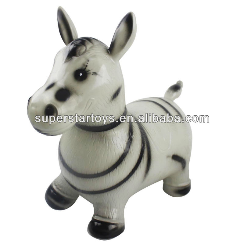 jumping horse/rubber jumpint animals