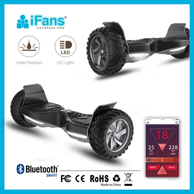 8.5inch UL 2272 Hyper motion control Hoverboard with LG battery,anti-fire shell,Waterproof,CE,FCC,RoHS,LVD,UN38.3