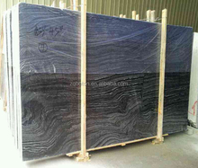 NATURAL MARBLE| WOOD GREY MARBLE BLACK AND BRWON