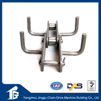 Cast steel leaf pintle sugar conveyor chain