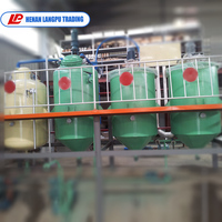 small scale 1ton 2 ton 3 ton 5 ton per day vegetable oil refinery