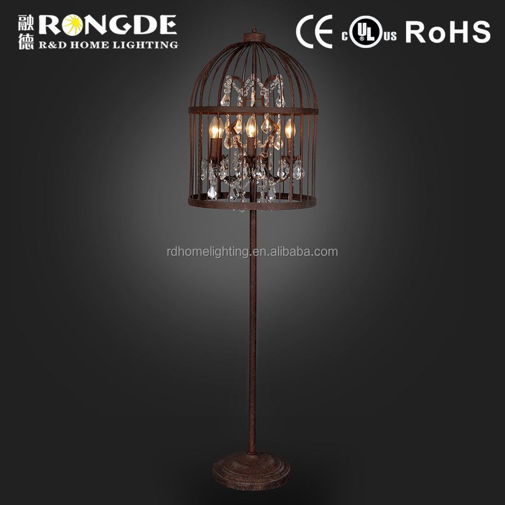 Good quality morocco pendant lantern floor lamp
