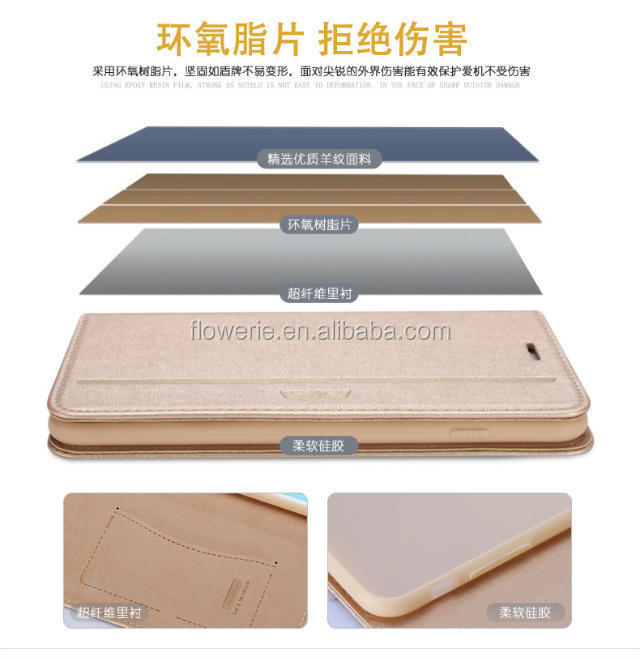 FL2554 XUNDD Shockproof Slim leather Cover For iphone 6 plus