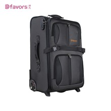 New Product funky 4 piece set polyester suitcases travel one