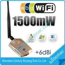 Realtek 8187L 10G 1500mW High Power Long Range Wireless USB Adapter