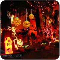 Led Light Halloween Pumpkin Decorating Party