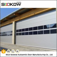 cheap tempered 2017 most popular electric industrial commercial automatic sliding glass doors