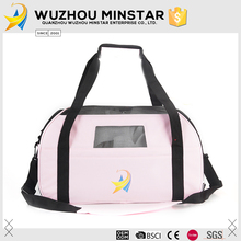 Most popular pink color dogs travel pet carrier bag