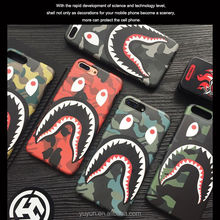Hypebeast Streatwear yeezy Shark Face Phone Case for iphone 6/7/8/X