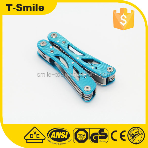 Blue Handle Tool Multi Expanding Plier