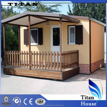 Luxury and Beautiful Light Steel Prefabricated Shelters for Rent