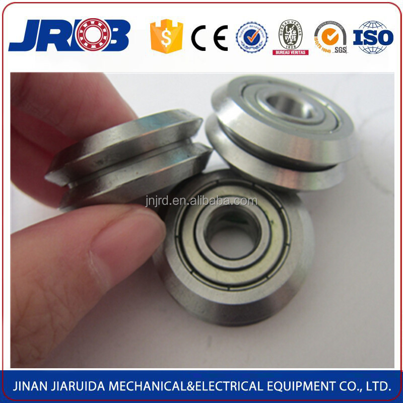 High precision v guide wheel bearing w2 9.525 * 30.73 * 11.1 mm for guide rail