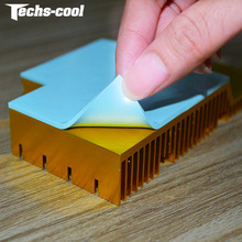 High quality electrical insulating heatsink silicone rubber thermal gap filler heat transfer pad for transfering heat