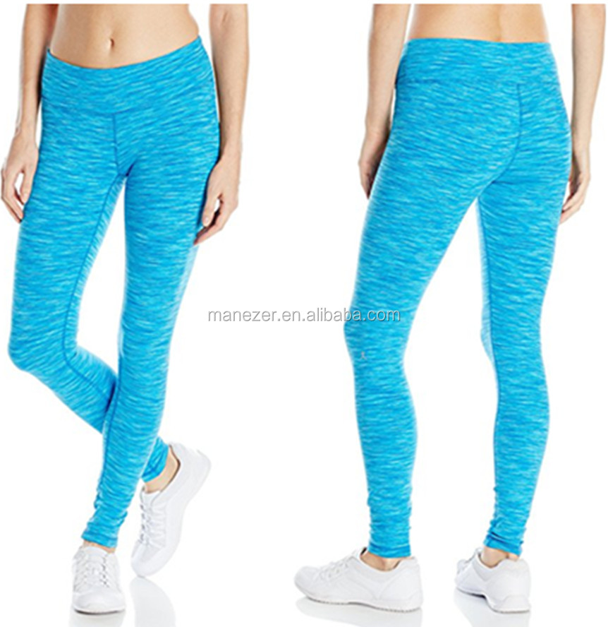 Wholesale Custom Leggings Sport Women's Solid Color Fitness Long Yoga Pants