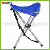 Blue folding tripod stool HQ-6001Y