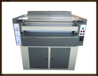 paper&wood block UV coater