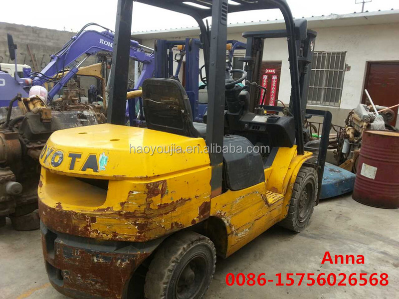 toyota small forklift 3ton for sale